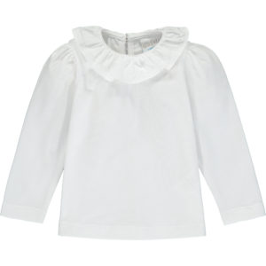 Frill collar with white lace